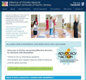 Alliance of Private Special Education Schools of North Jersey