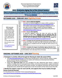 Enrollment Calendar 2019 DDD