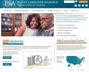 Family Caregiver Alliance National Center on Caregiving