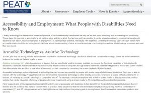 Partnership on Employment & Accessible Technology