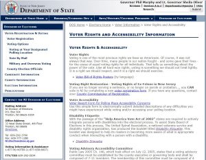 State of New Jersey Department of States